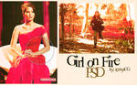Girl on fire PSD