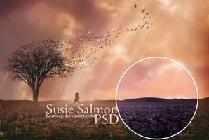 Susie Salmon PSD by KenyaCG