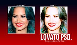Lovato Psd by KenyaCG
