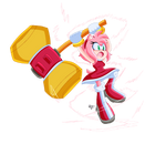 Amy Rose Pixel