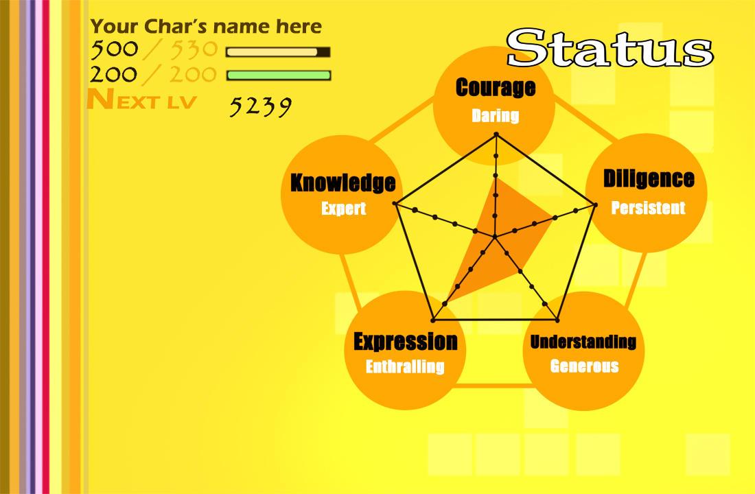 Persona 4 Template by XiaoShuai