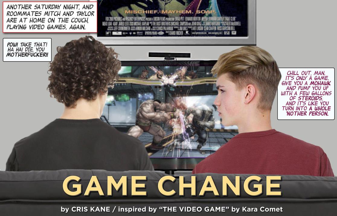 Game Change - TF/TG (a 28-page PDF photo-comic) by CrisKane