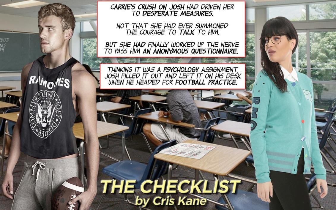 The Checklist - TF/F2F (a 16-page PDF photocomic) by CrisKane