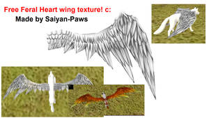 Free Wing Texture for Feral Heart