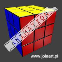Rubik's Cube - Blender Animation