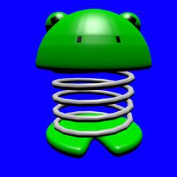 Frog - Blender Animation