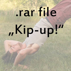 Kip up.