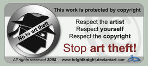 Anti-art theft card