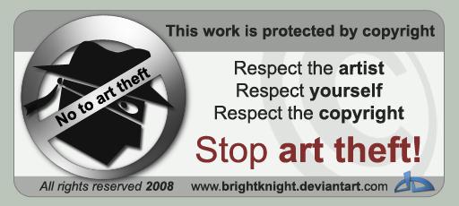 Anti-art theft card