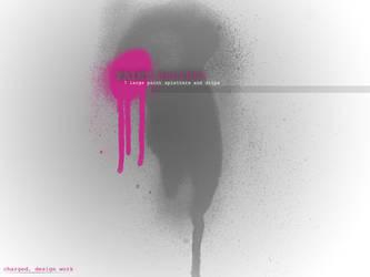 Paint Drip Brushes by elliottfelix