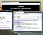 Google Chrome theme - ZOMBRE