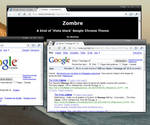 Google Chrome- ZOMBRE dark