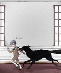 Pet Dog to Pet Demon (GIF)