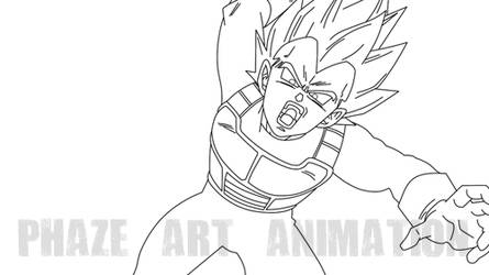 PREVIEW-DRAGON BALL Z ANIMATION PROJECT by PhazeN1