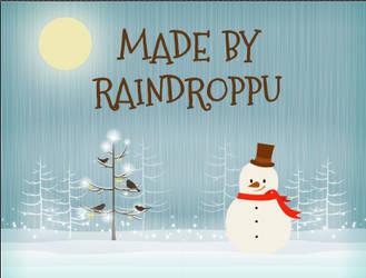Christmas Animation 2013 by Raindroppu