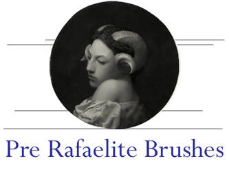 Pre Raphaelite Brushes by AMPenizer