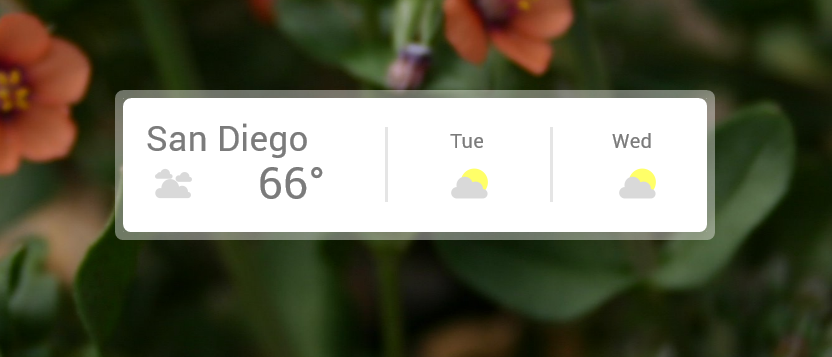 Google Weather 5.0 [OUTDATED] (more info below)
