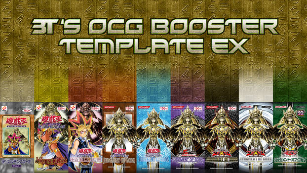 OCG Japanese Booster Pack Template EX *READ EDIT*