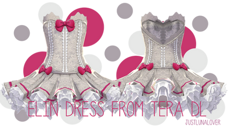 [MMD] Tera Elin Dress DL by luna-panda-love
