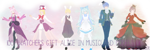 [100+ watchers gift] Alice in Musicland Models DL by luna-panda-love