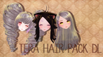 [MMD] Tera Hair Pack DL