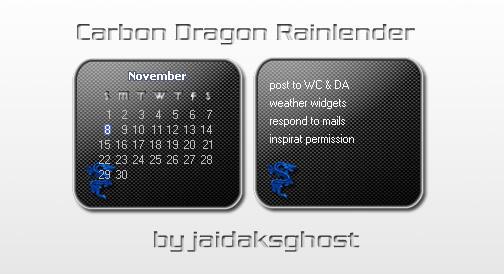 carbon dragon rainy by jaidaksghost