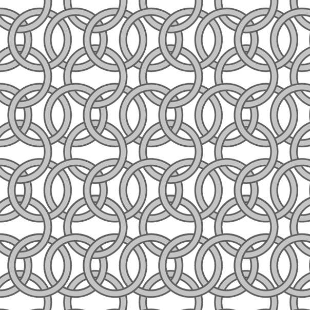 Chainmail pattern