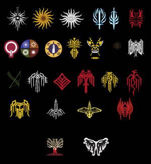 Dragon Age Crest Super Pack