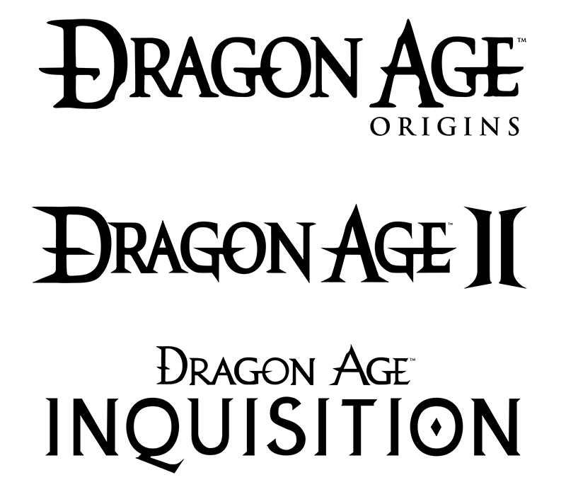 Dragon Age Logo Vectors by TheDalishRanger