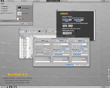 Brushed 3.5 Visual Style