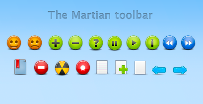 The Martian toolbar by michihan