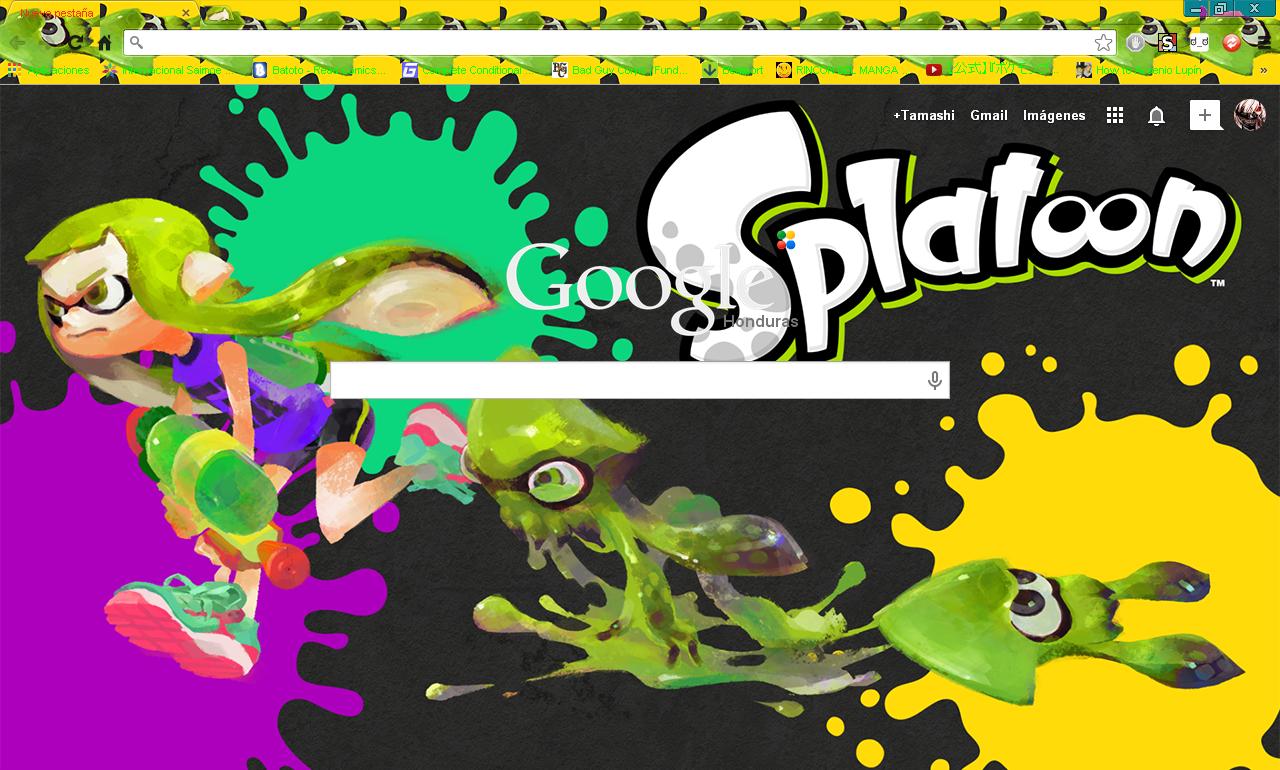 Google themes reddit - Splatoon Google Chrome Theme By Hellfrenzy Splatoon Google Chrome Theme By Hellfrenzy