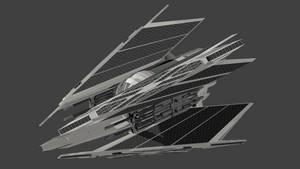 Tie Dagger: Swarm fighter by wbyrd