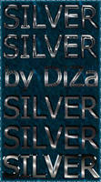 6 silver text styles by DiZa