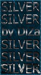 6 silver text styles by DiZa by DiZa-74