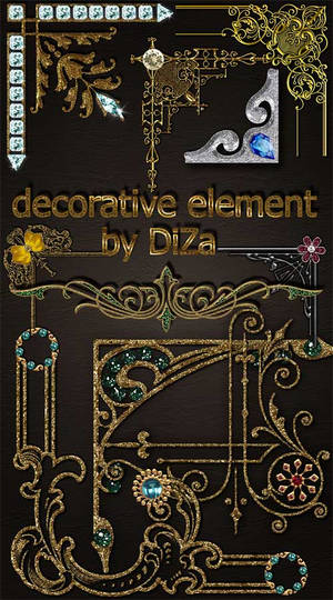 DiZa decorative element