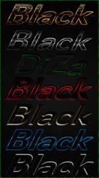 Black styles by DiZa by DiZa-74