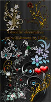 Graceful decorative embellishm