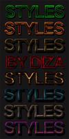 Text styles by DiZa - 2