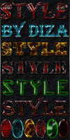 Text styles by Diza - 6