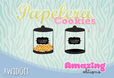 Papelera de reciclaje Cookies *Xwidget* by iAmazingR