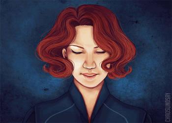 Black Widow animation by neomeruru