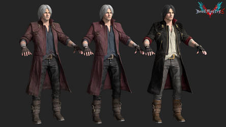 devil may cry 5: dante by rotten-eyed