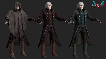 devil may cry 5: vante (mod) by rotten-eyed