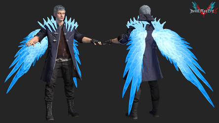 devil may cry 5: super nero by rotten-eyed