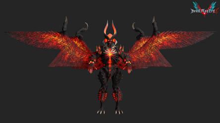 devil may cry 5: dante shinmajin by rotten-eyed