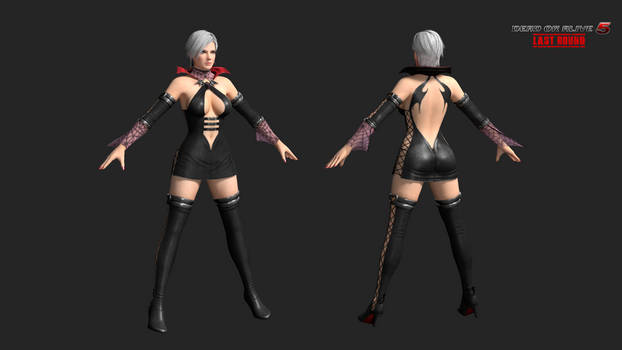 DOA5LR: christie C23 - halloween 2013 by rotten-eyed