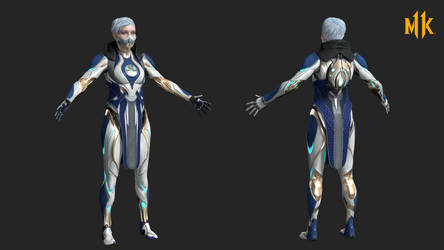 MK11: frost - kronika's temporal reactor by rotten-eyed
