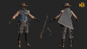 MK11: erron black - cavalry
