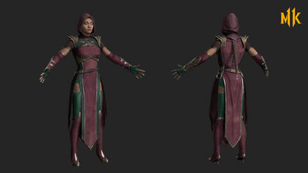 MK11: jade - proper attire by rotten-eyed